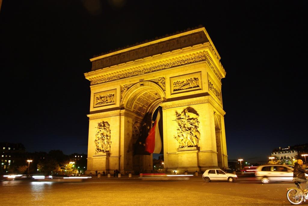 First visit to Paris