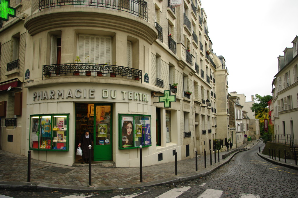 Montmartre pharmacy