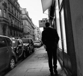 Chic. In black. In Paris