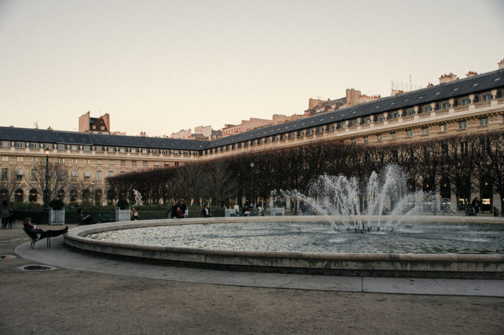 Fountain in the Palais-Royal