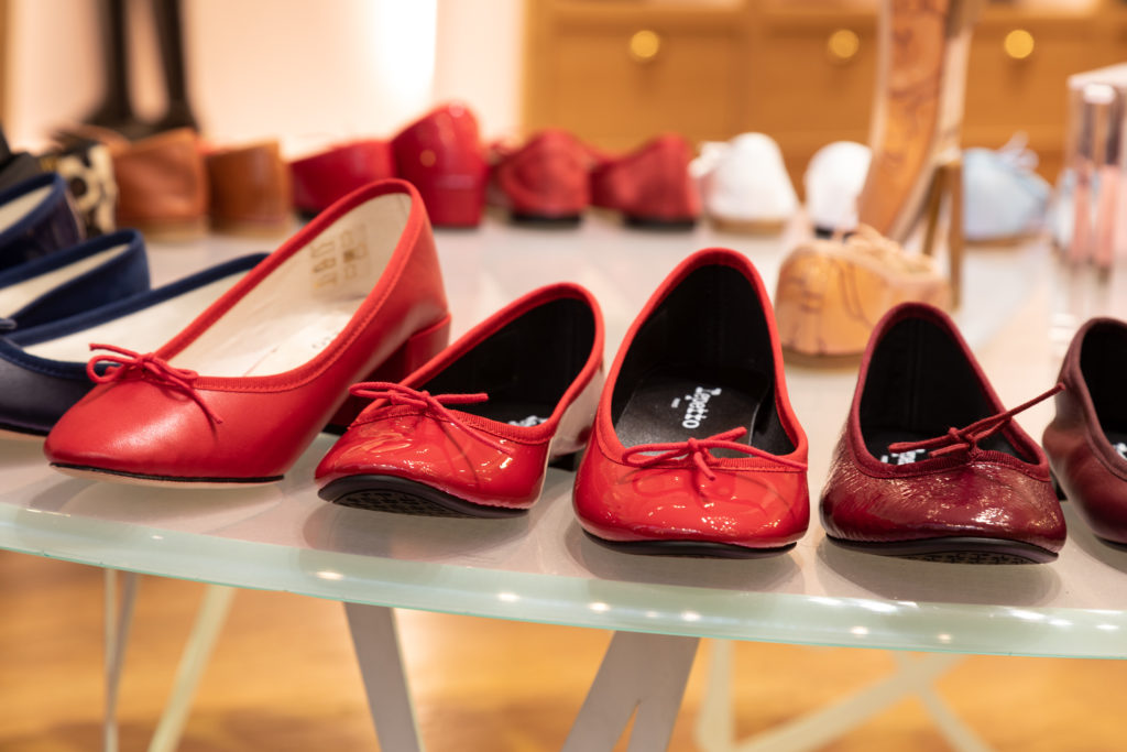 French Style Red Shoes